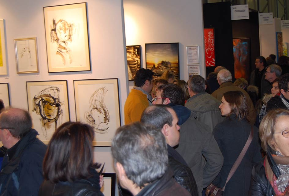 Salon d'Art Contemporain ART3 F Nantes 2014.